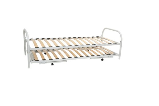 2 in 1 bed onderschuif combinatie