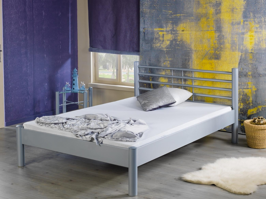 2 Persoonsbed Modern.Metalen 2 Persoonsbed Awesome Affordable Bed Zwart Met Lattenbodem