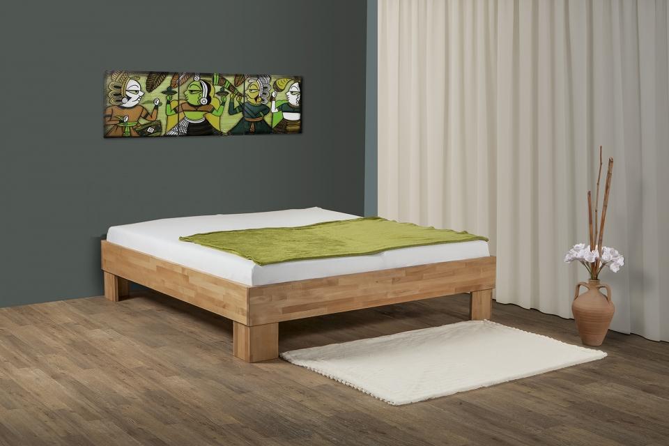 Bed Hout Kopen.Houten Eenpersoonsbed Kopen Wit Houten Bed Elegant Houten