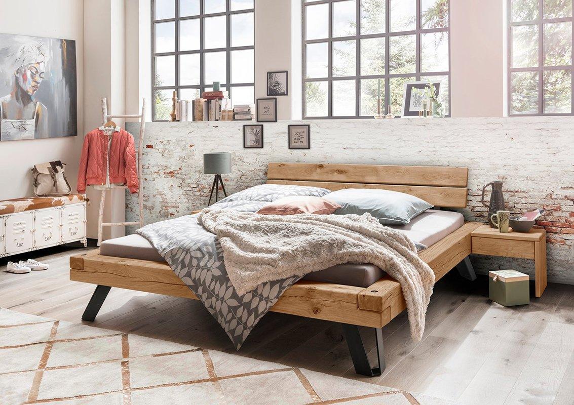 Massief Houten Bed 160x200.Luxe Houten Bed Logan Gratis Bezorging En Montage