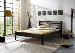 Modern tweepersoons metalen bed