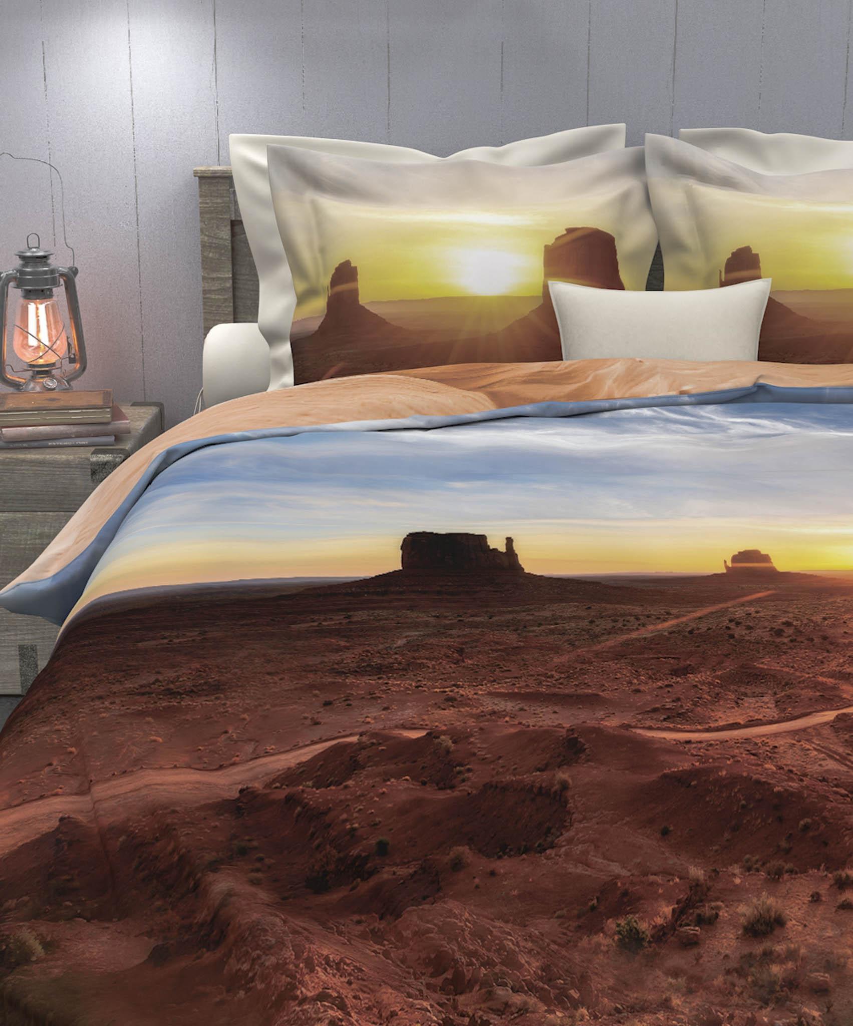 Overtrek woestijn