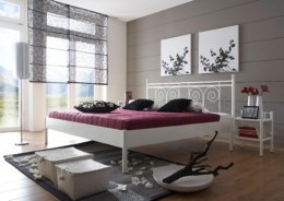 Metalen bed Kos