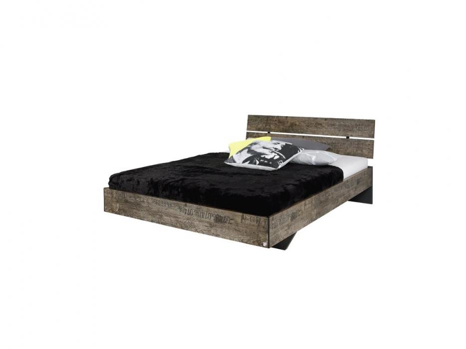 Ledikant 140x200 Aanbieding.2 Persoons Vintage Bed Met Vele Bijmeubelen Mogelijk