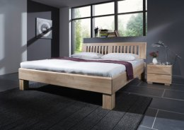 Houten bed Job wild eiken geolied