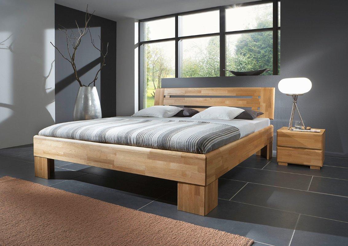 Uitgelezene 2 persoons houten bed Teun | Slaapkamerweb VK-89