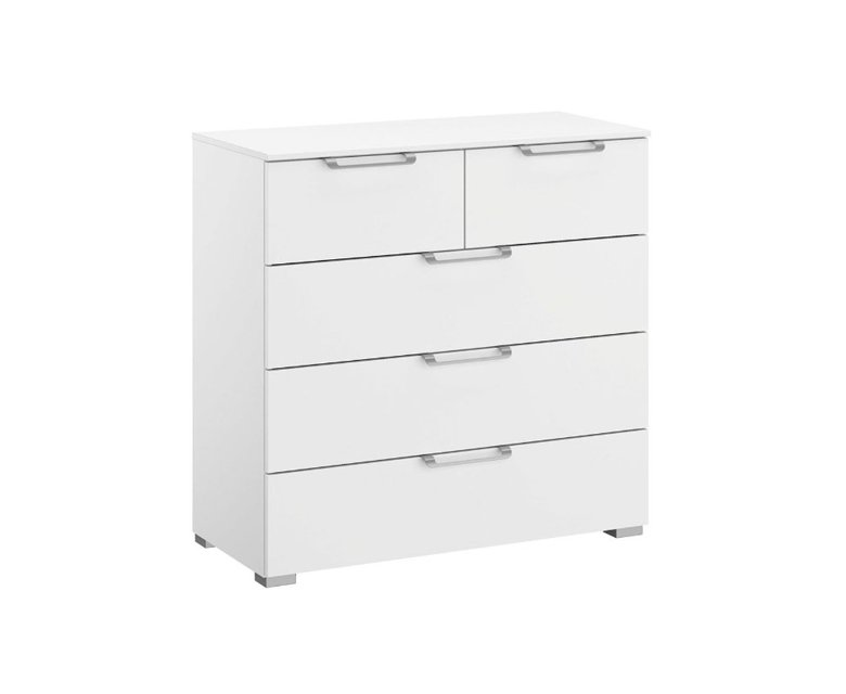 5 ladencommode alpine wit
