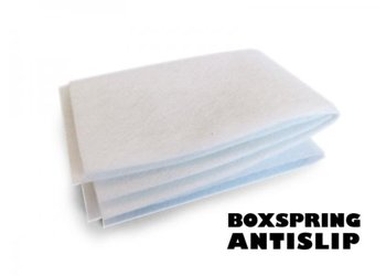 Boxspring bed anti slip mat
