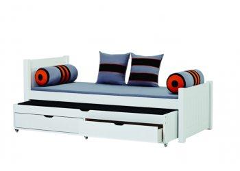 Spiksplinternieuw Eenpersoonsbed met laden | Slaapkamerweb RZ-38