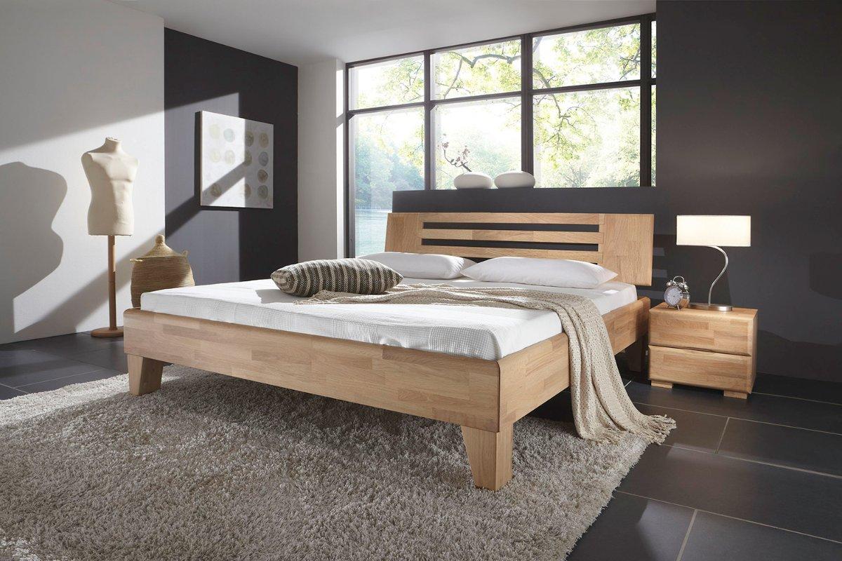 Wonderbaarlijk 2 persoons houten bed Max| Slaapkamerweb ZU-91