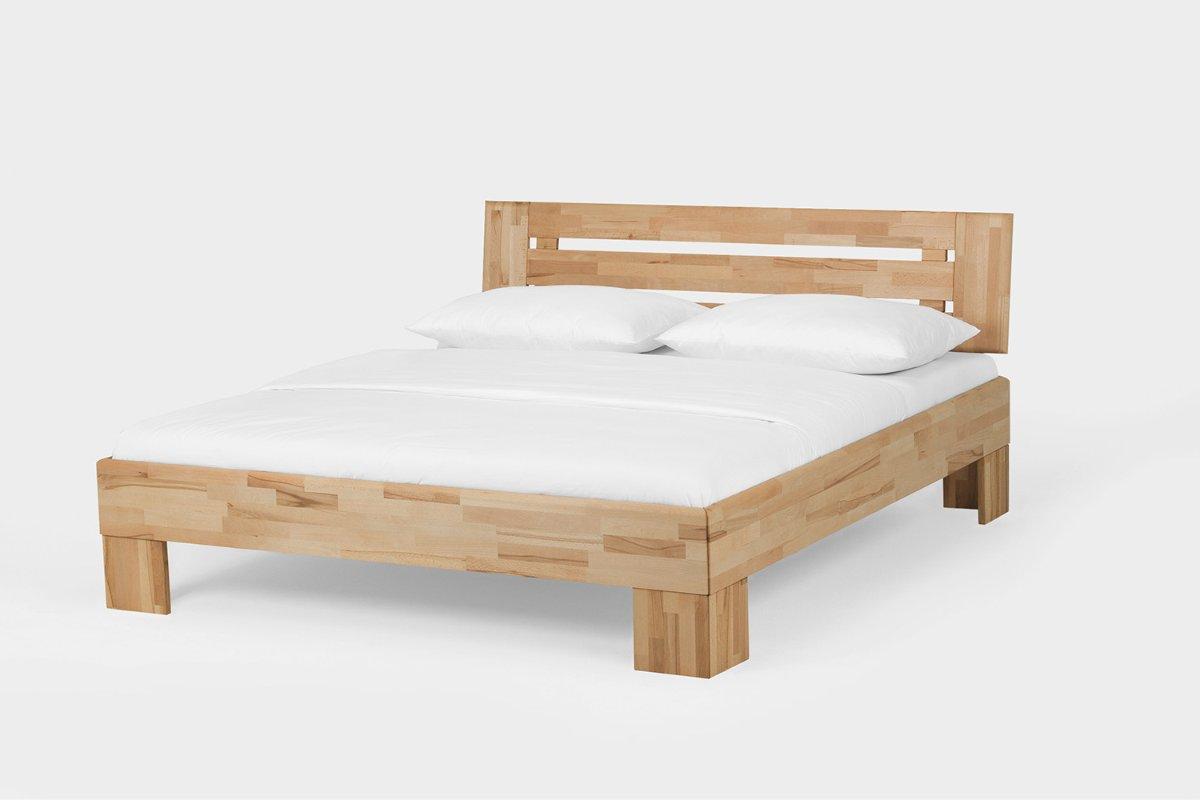 Geliefde 2 persoons houten bed Teun | Slaapkamerweb DB45