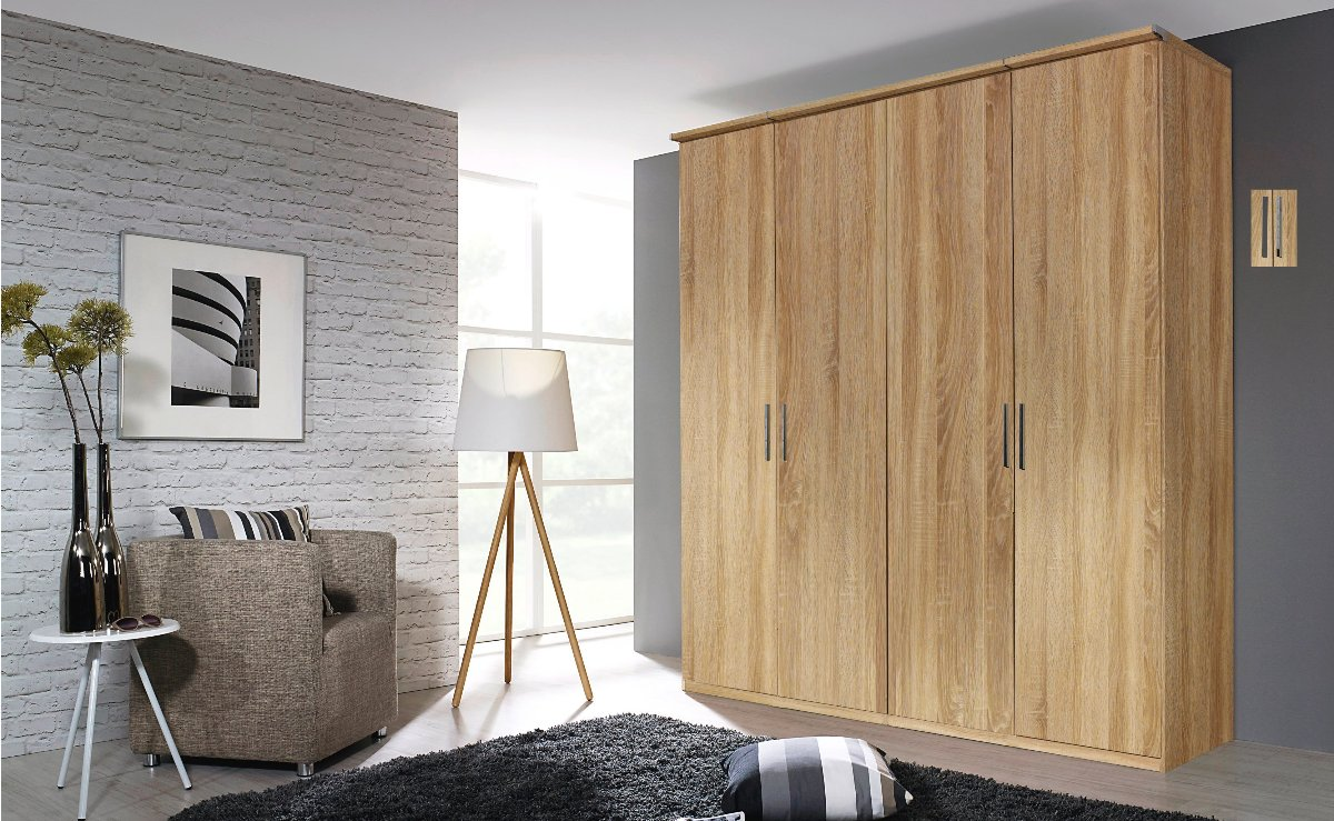 Nieuw Moderne kledingkast | Draaideurkast Modern | Slaapkamerweb OV-75