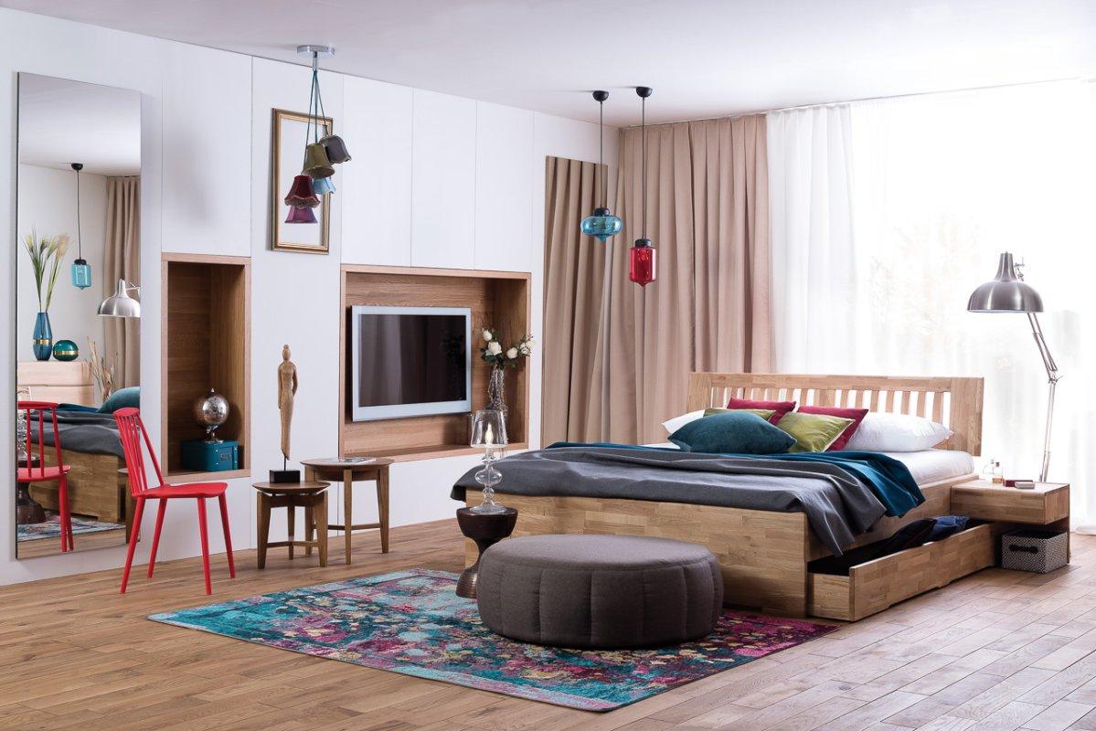 Houten Ledikant 140x200.Houten Bed Multi Tweepersoons Slaapkamerweb