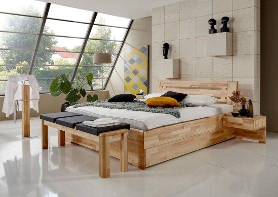 Tweepersoonsbed Met Lades.Houten Bed Multi