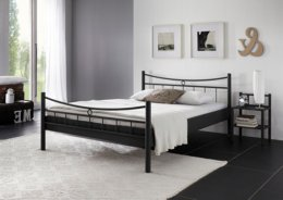 Eenpersoons metalen bed