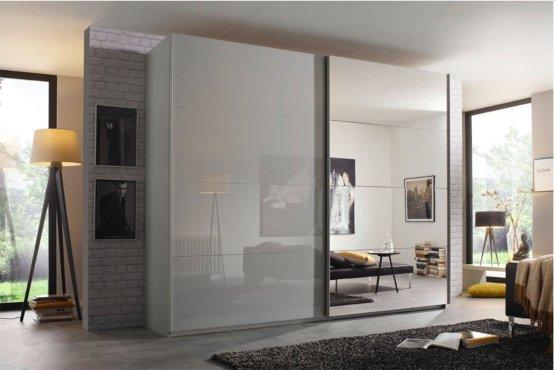 Kastenwand Met Spiegels.Luxe Zweefdeurkast Met 5 Jaar Garantie Slaapkamerweb Nl