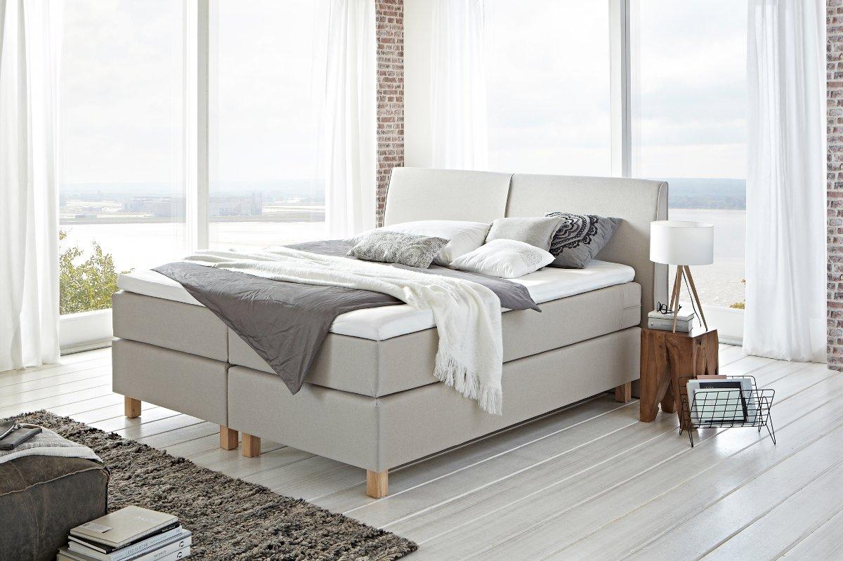 Boxspring gradine met modern hoofdbord slaapkamerweb