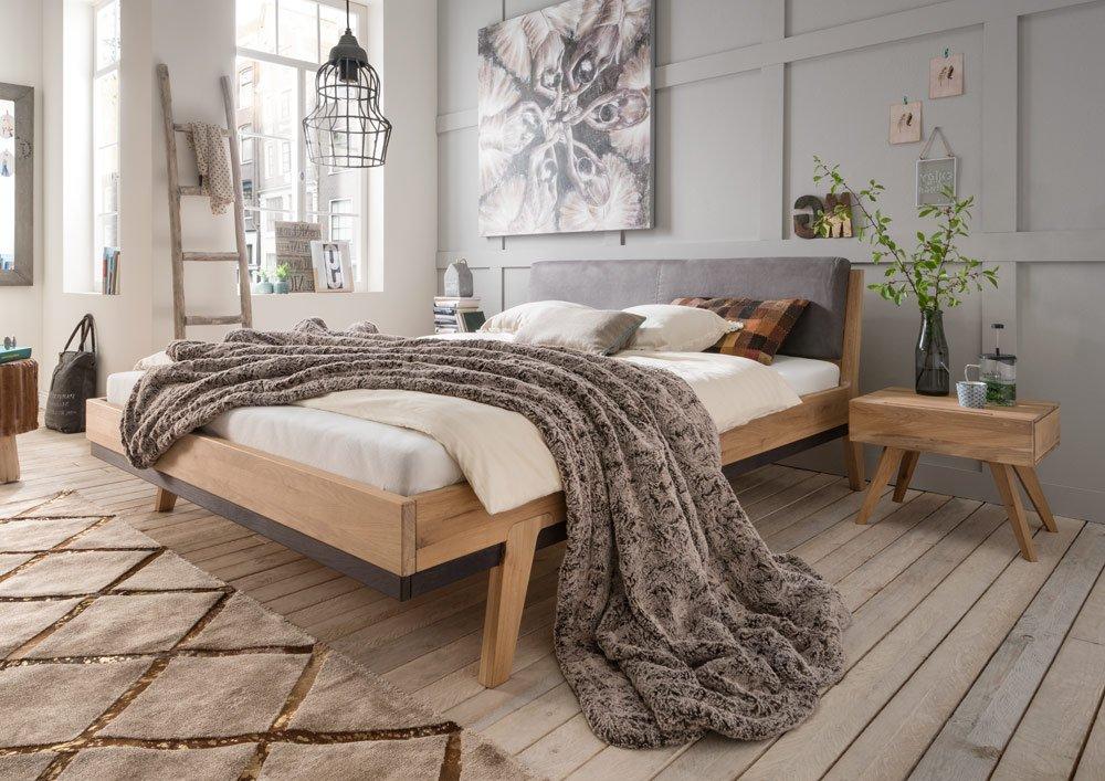 Bed 180x200 Hout.Massief Eiken Houten Bed Sarah Slaapkamerweb