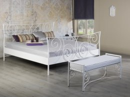 Mooi elegant metalen bed