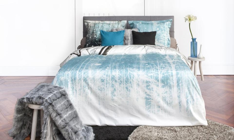 Dekbedovertrek winter slaapkamerweb
