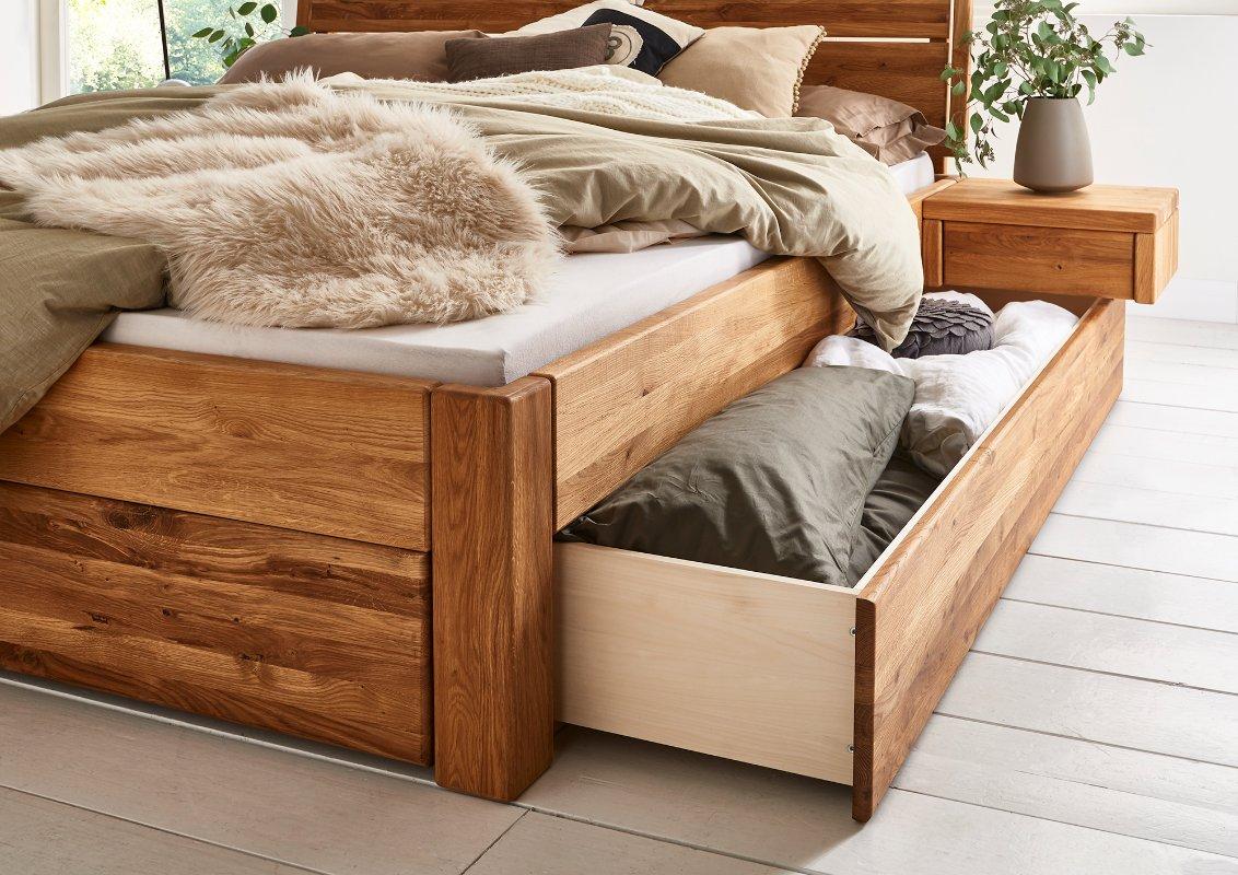 Massief Houten Bed 160x200.Tweepersoons Houten Bed Kopenhagen Slaapkamerweb