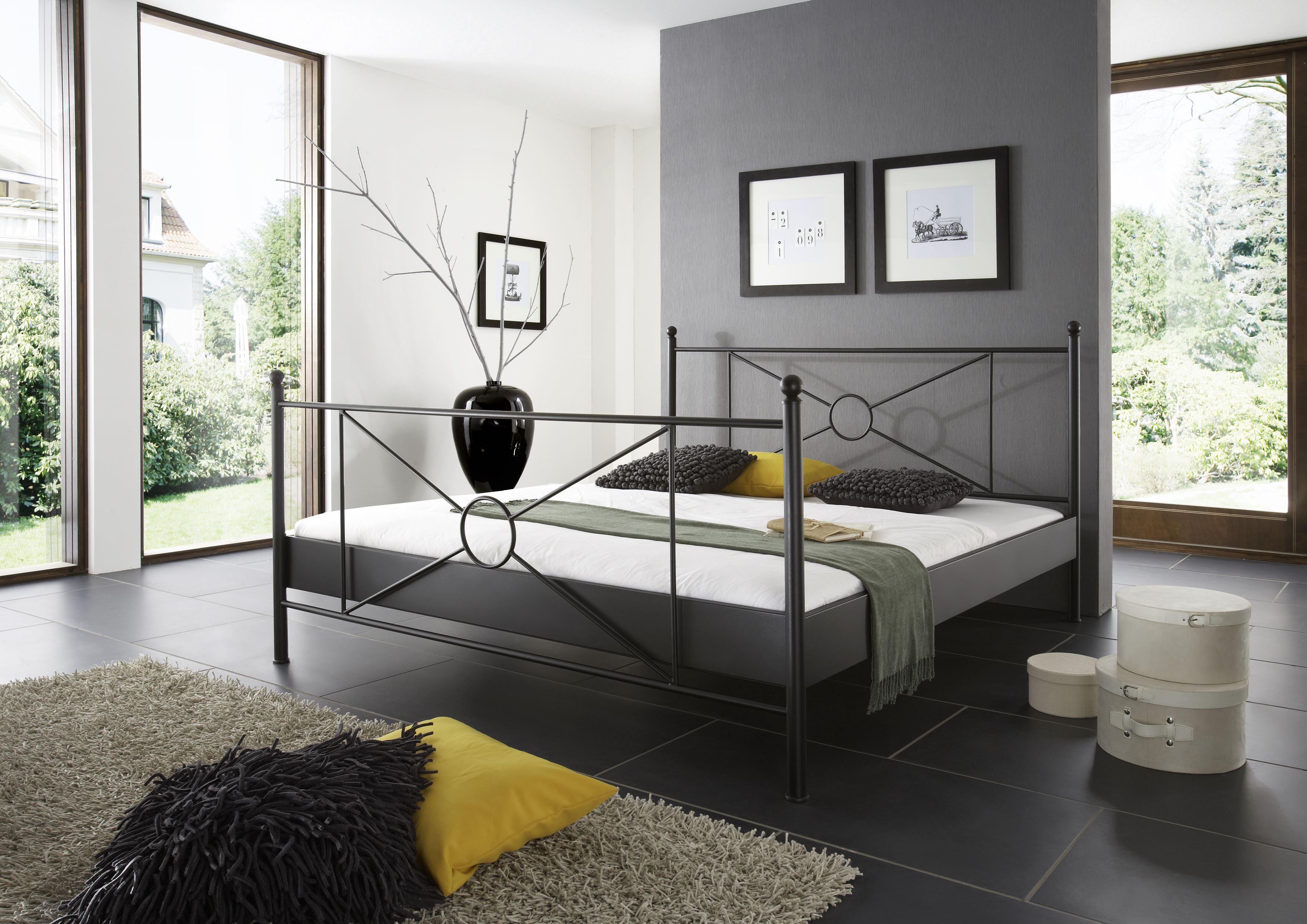 Goedkoop Metalen Bed.Metalen Bed Monza Slaapkamerweb