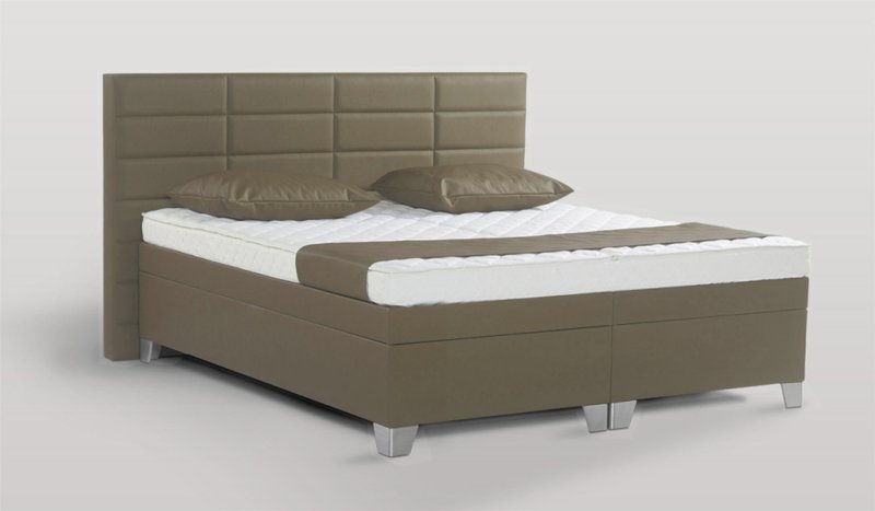 Waterbed Luxury taupe