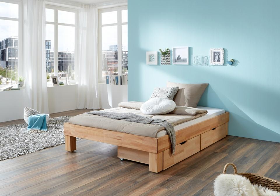 Eenpersoonsbed Met Opbergruimte : Massief houten bed classic slaapkamerweb