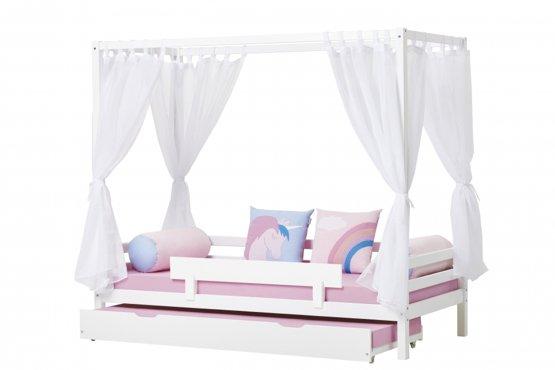 kinder hemelbed wit slaapkamerweb